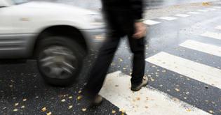 indemnización por accidente de tráfico en paso de cebra
