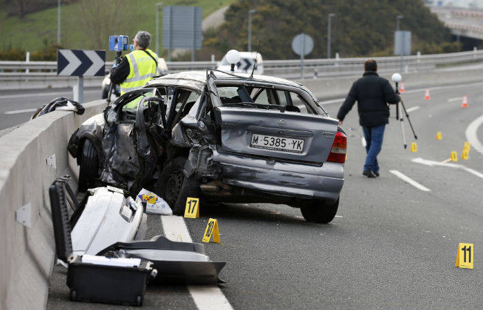Indemnización acompañante accidente tráfico