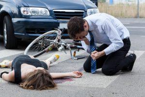Indemnización atropello ciclista